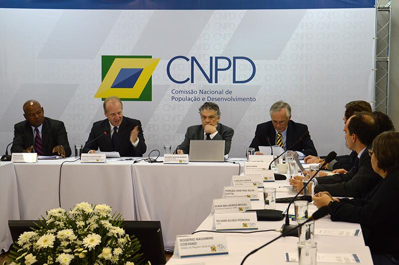5ª Reunião Plenária da CNPD, onde ocorreu a renovação da parceria entre a UNFPA e a CNPD. Foto: UNFPA