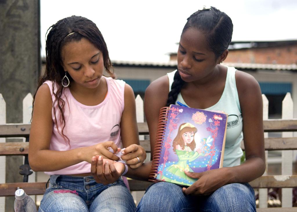 O UNFPA promove o direito dos jovens no Brasil. Foto: UNFPA